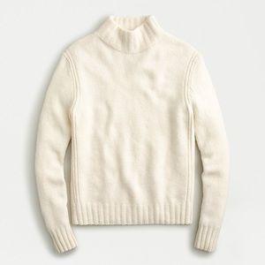 J. Crew Point Sur Mockneck sweater